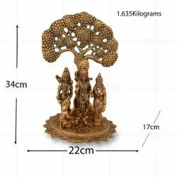 Gold Plated Ramdarbar Back Tree Big