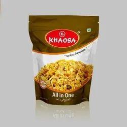 KHAOSA Packet Spicy Mixture Namkeen, Packaging Size: 400GM