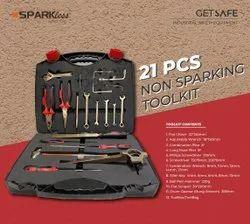 Non Sparking Tool Kit 21 Pcs - Chemical & Pharma  TKI21A