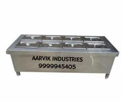 Stainless Steel Bain Marie Table Top