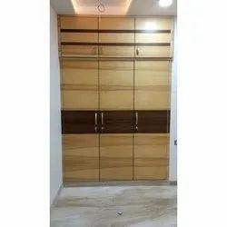 3 Door Plywood Wardrobe