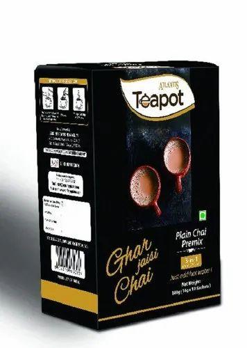 Atlantis Teapot Instant Plain Tea Premix Single Serve Sachet