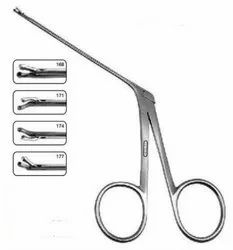Micro Straight  Aural Cup Forceps