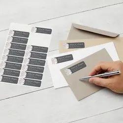 Return Address Label Printing Service