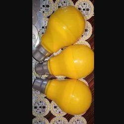 Round 9W Yellow Decorative LED Bulb, 200V-250V