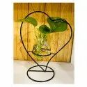 Heart Shape Glass Planter