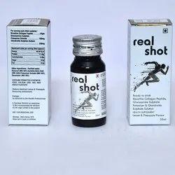 Real Shot Health Solution Supplement, 35 Ml, Prescription