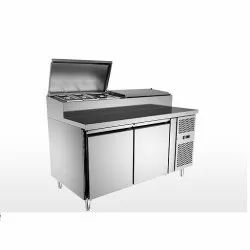 Pizza Preparation Counter 390Ltr 304 SS