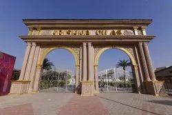 Golden Frp Decorative Gate