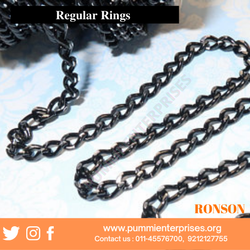 Black Aluminum Chain