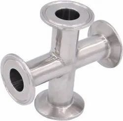 Stainless Steel TC End Cross Tee