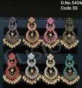 Traditional Meenakari Hanging Earrings