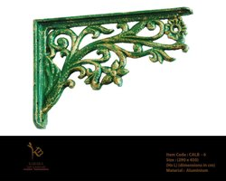 Victorian Antique Cast Iron L Bracket