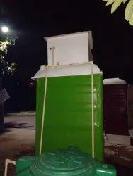 Portable FRP Toilet Cabin With Water Tank
