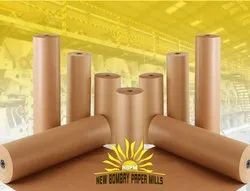 16 - 24 Bf natural,brown Test Liner Paper, Packaging Type: Roll, 100 - 180