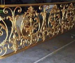 Brass Continious Railing