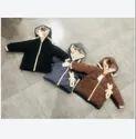 Kids Full Sleeves Woolen Jacket
