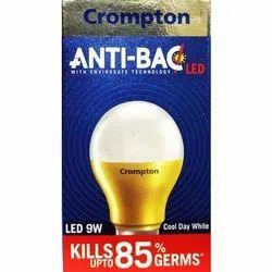 Aluminum Round Crompton Anti Bac LED Bulb