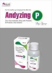Zinc Gluconate 20mg L.Acidophilus, B.Longum, B.Bifidum, B.Infantis 417mg