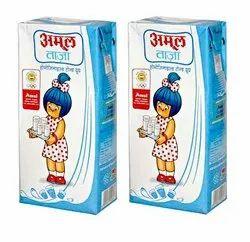 Amul Milk, Packet