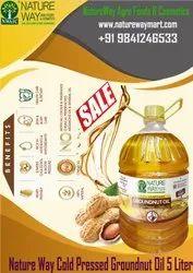 5 Litre Unrefined Groundnut Oil