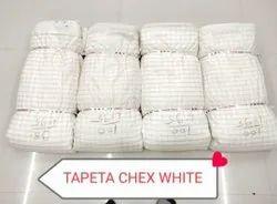 Tapeta Checx white