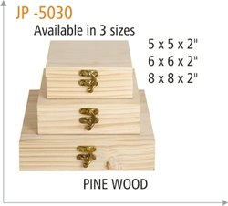 JP-5030 Pine Wood Gift Box