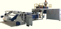 High Speed Air Bubble Sheet Extrusion Machine