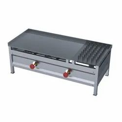 Ss CHAPATI HOT PLATE WITH PUFFER - TABLE TOP