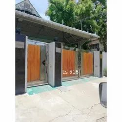 LS 518 Stainless Steel Gate