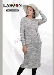 Tail Cut Kurti With Shrug