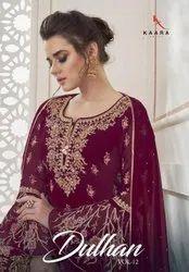 Kaara Suits Dulhan Vol 12 Georgette Designer Salwar Suit Catalog