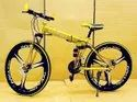 Ferrari Golden Foldable Cycle