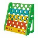 Multicolor Plastic Book Shelf For Kids