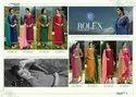 RSF Rolex Inner Print Vol 9 Long Georgette Salwar Suit Catalog