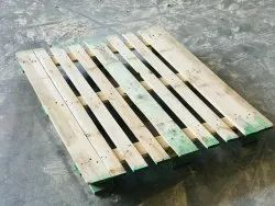 Rectangular Pine wood Used Wooden Pallet, For Warehouse, Capacity: 1000 Kg