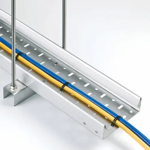 Stainless Steel Perforated Cable Tray, Sheet Thickness: 1.2-3 Mm