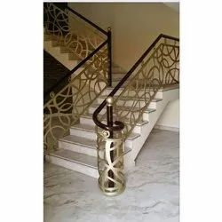 CNC Cutting Mild Steel Staircase Railing