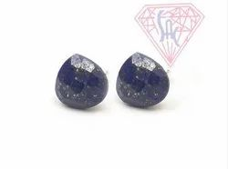 Natural Lapis Earrings