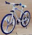 Mercedes Benz White MTB Cycle