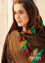 Radhika Sumyra Bandish Pure Pashmina Dress Material Catalog
