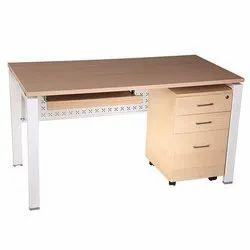 Executive Table Metal Leg