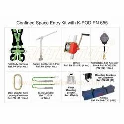 Confined Space Entry Kit With K- Pod Karam