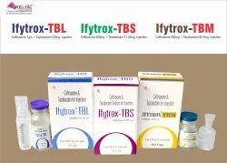 IFYtrox TBS Injection Ceftriaxone 250mg  Tazobactam 31.25mg