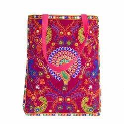 Cotton New Designer Handicraft Bag