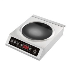 Commercial Induction Countertop Wok 3500W
