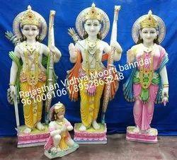 30 Inch Ram Darbar Marble Statue