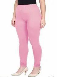 Pink 4 Way streachable cotton lycra leggings