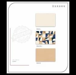 OTTAWA CREAME BLUE CHEX Digital Wall Tiles, Thickness: 5-10 mm