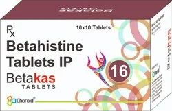 BETAHISTINE 16 MG TABLETS (BETAKAS 16)